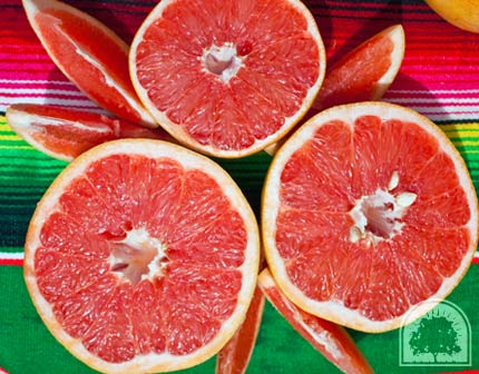 Rio Red Grapefruit are more Delicious and Red than Ruby Red Grapefruit